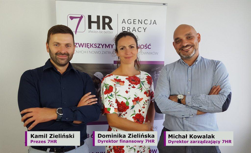 Rozwijamy się – Michał Kowalak nowym dyrektorem zarządzającym agencją pracy 7HR
