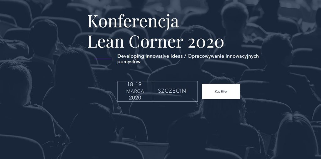 7HR partnerem głównym konferencji Lean Corner w Szczecinie.